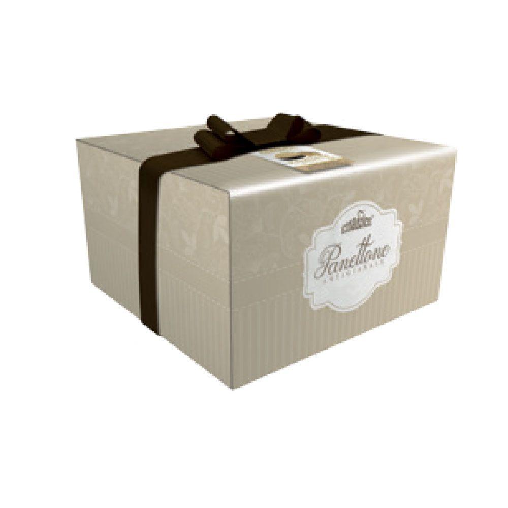 Panettone con crema alla nocciola scatola