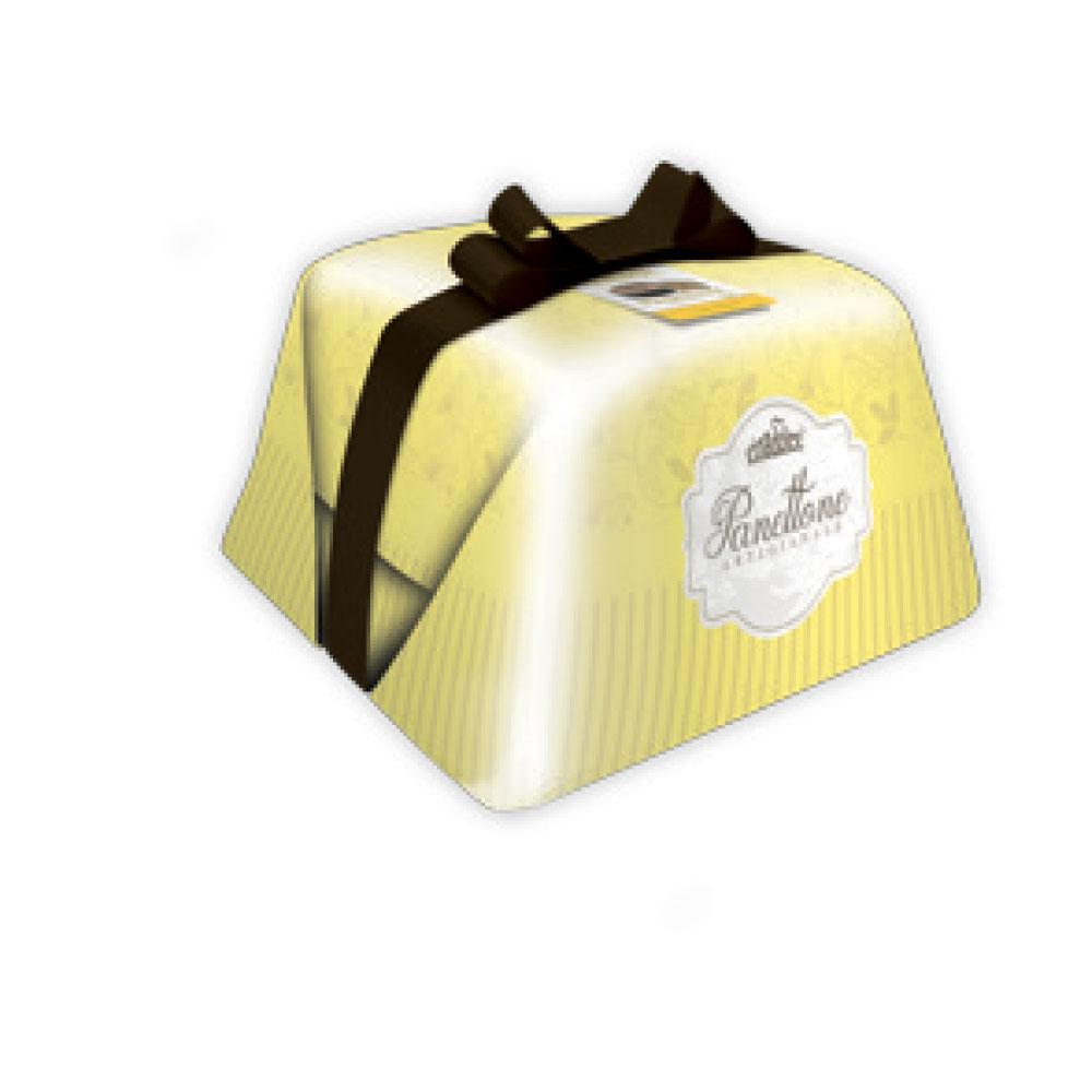 Panettone with tiramisù cream