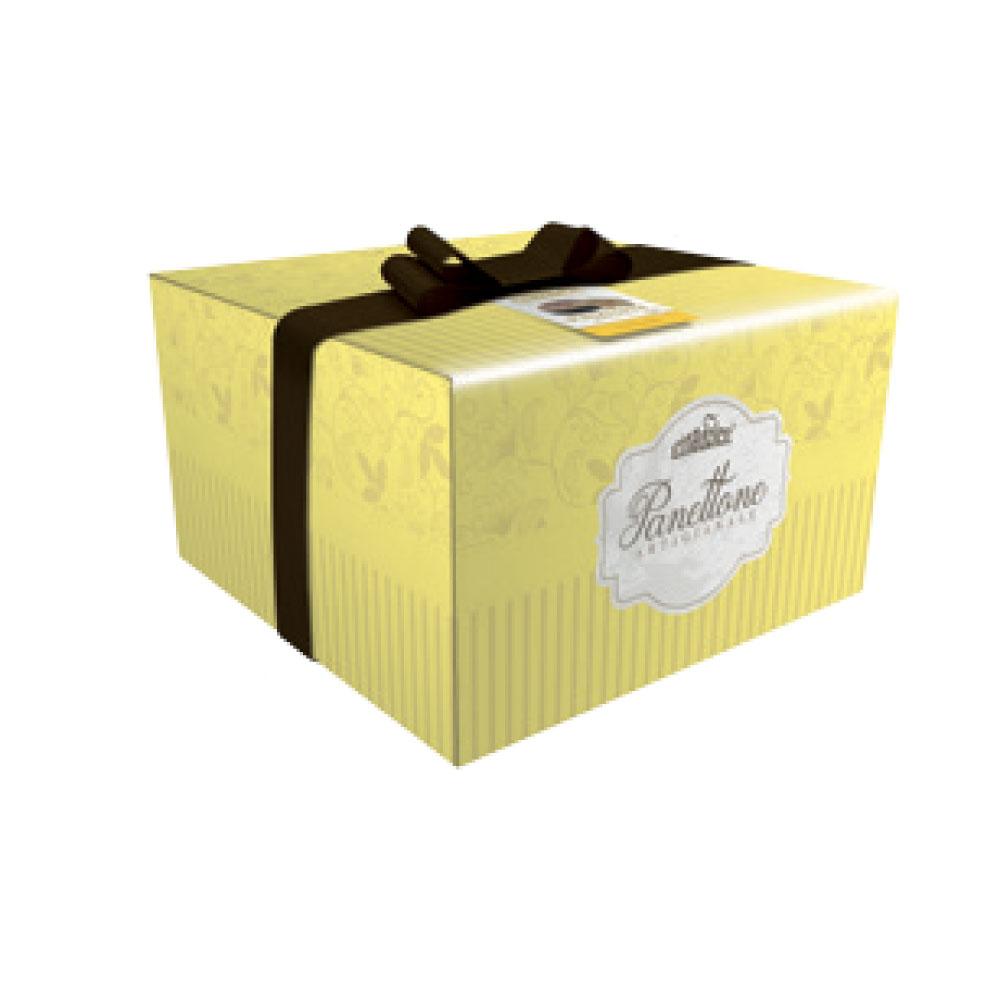 Panettone con crema al tiramisu' scatola