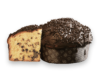 Panettone con gocce di cioccolato incarto