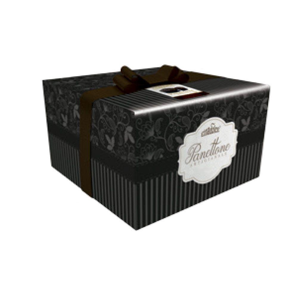 Panettone vulcano fondente scatola