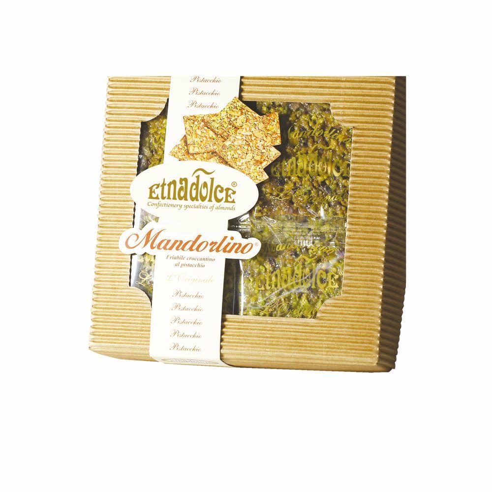 Mandorlino al pistacchio in scatola