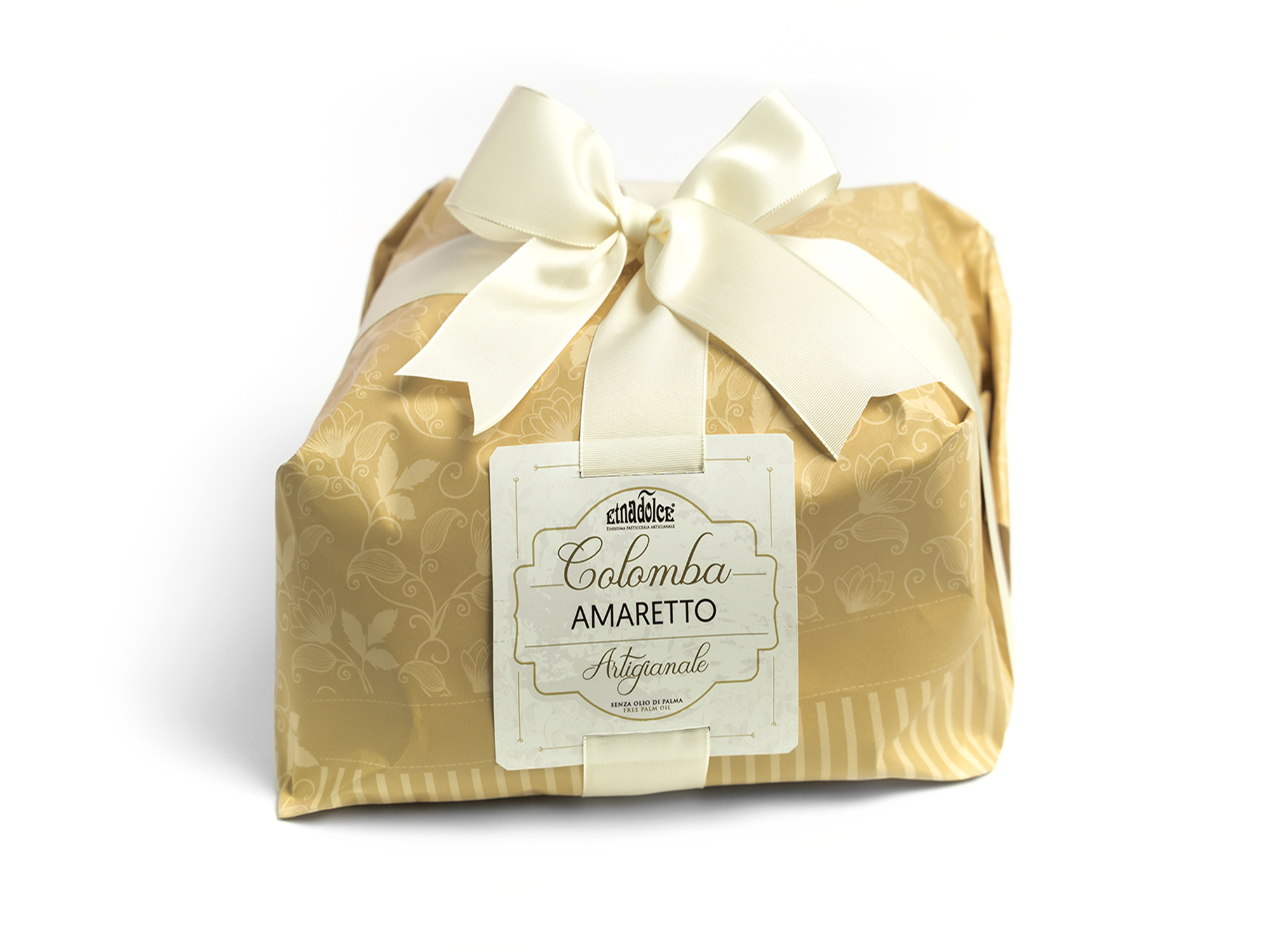 Colomba con crema all'Amaretto kg 1