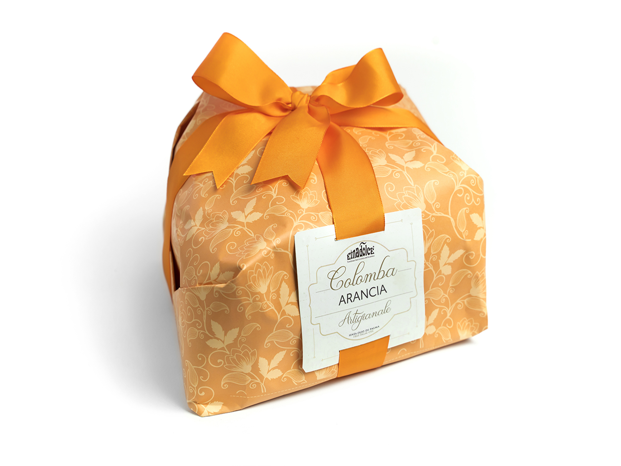 Colomba con crema all'Arancia kg 1