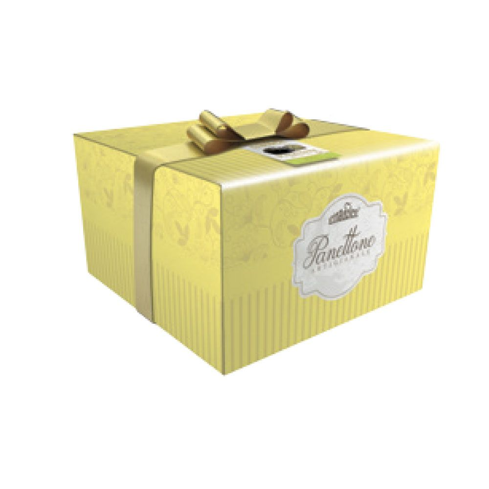 Panettone pear and chocolate box