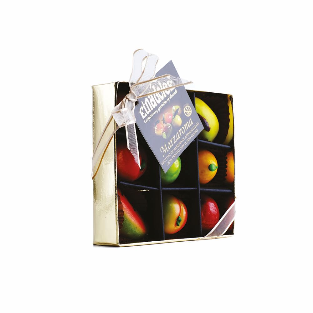 Marzaroma Marzipan Fruit Flavored gold pack